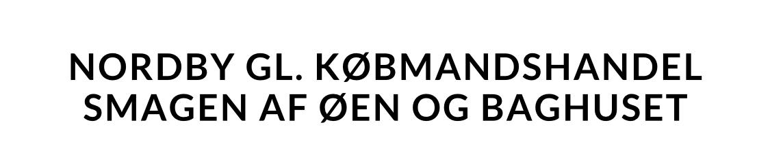Nordby Gl. Købmandshandel, Samsø